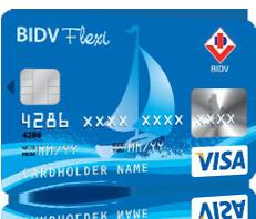 Thẻ tín dụng quốc tế BIDV Flexi