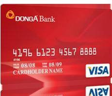 Thẻ Tín dụng Visa DongA Bank