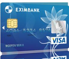 Thẻ tín dụng quốc tế Eximbank Visa