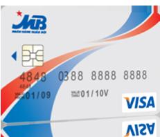 Thẻ tín dụng MB Visa Classic