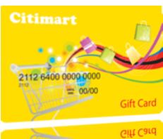 Thẻ quà tặng Citimart