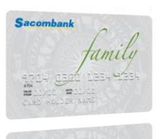 Thẻ tín dụng nội địa Sacombank Family
