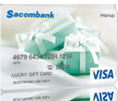 Thẻ quà tặng Visa Lucky Gift