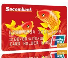 Thẻ thanh toán quốc tế Sacombank UnionPay