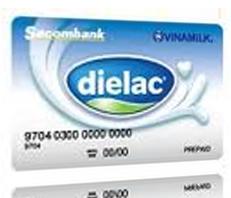 Thẻ trả trước Sacombank – Vinamilk