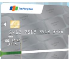 Thẻ tín dụng quốc tế TienPhong Bank Visa