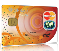 Thẻ VPBANK MASTERCARD MC2 CREDIT