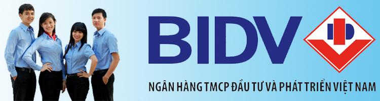 danh sách ngân hàng kết nối với BIDV