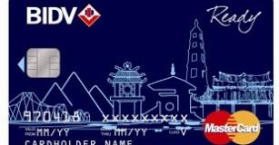 BIDV ra mắt thẻ ghi nợ quốc tế MasterCard BIDV Ready