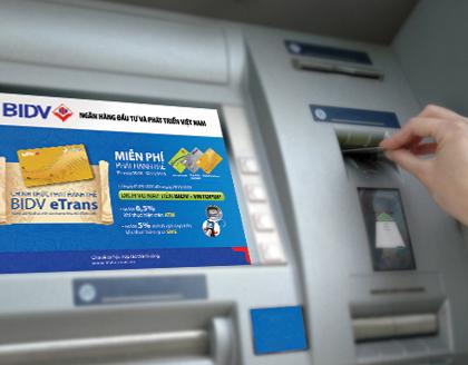 Atm của BIDV bị mắc két tại máy atm của banknetvn