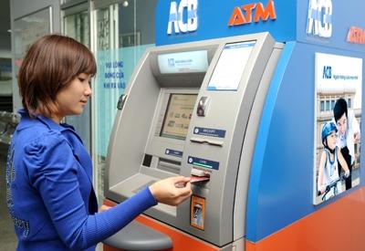 Cách chuyển khoản từ cây ATM của ACB