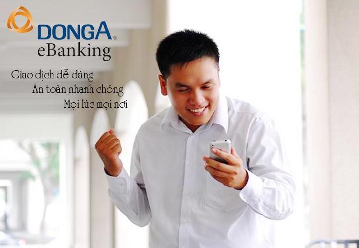dụng dịch vụ Internet Banking và SMS Banking của Đông Á
