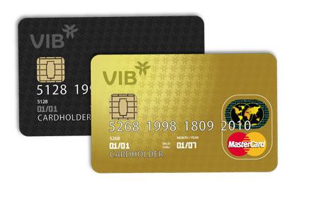 Thẻ tín dụng quốc tế VIB MasterCard Chuẩn