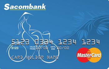 Thẻ tín dụng quốc tế Sacombank MasterCard Chuẩn