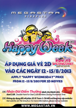 Happy Week - 250 x 365