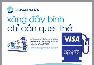 PV Oil-tang-ngay-200000d-cho-chu-the-visa-oceanbank-khi-mua-xang