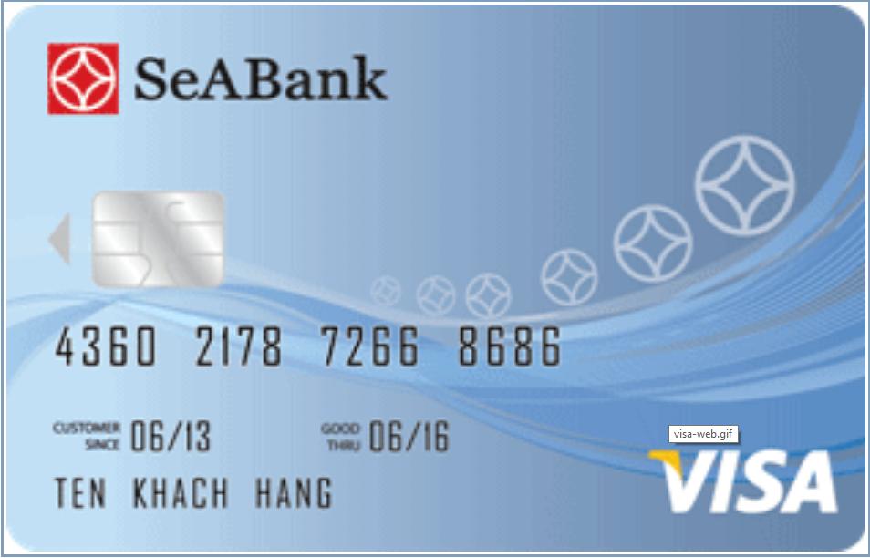 Thẻ Tín dụng quốc tế SeABank Visa