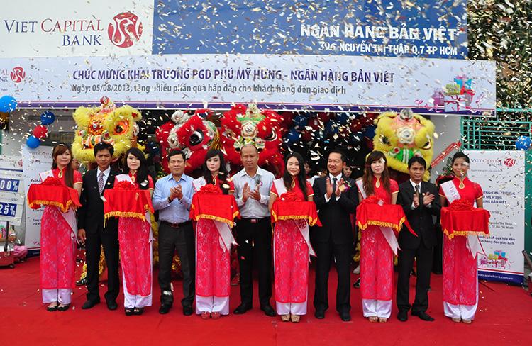 VietCapital Bank khai trương Phòng Giao dịch mới - Chi nhánh Sài Gòn với nhiều ưu đãi hấp dẫn !