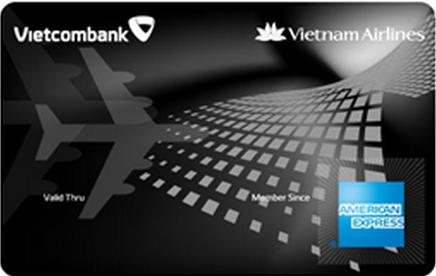 Làm thẻ tín dụng Vietcombank Vietnam Airlines Platium American Express