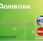 Làm thẻ tín dụng quốc tế Agribank Visa/MasterCard