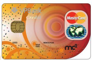 Làm thẻ tín dụng VPBank Mastercard MC2 cho khách hàng sành điệu