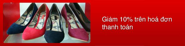 Sở hữu giày xinh - tiết kiệm Quốc Khánh tại Ly's Boutyque cho chủ thẻ MD Bank
