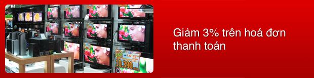 Điện máy Tân Phước ưu đãi đặc biệt cho chủ thẻ MD Bank nhân dịp Quốc Khánh