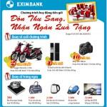 Mừng đón thu sang, nhận ngàn quà tặng cùng Eximbank