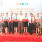 Ngày 06-08-2013, OCB tiếp tục khai trương Phòng Giao dịch Tân Sơn – CN Thanh Hóa