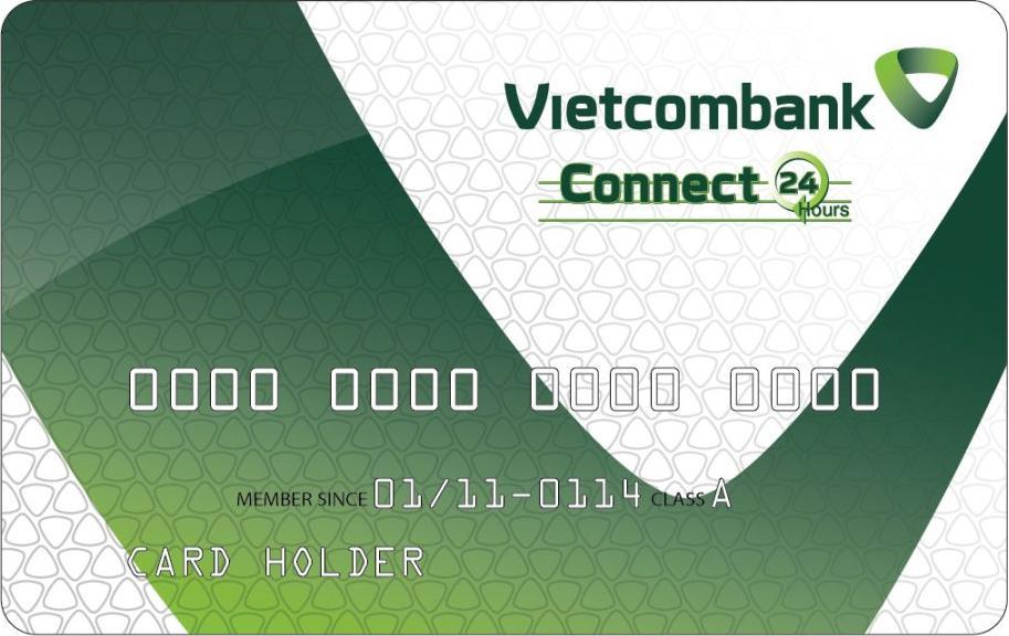 tiện ích thẻ ghi nợ nội địa Vietcombank connect24