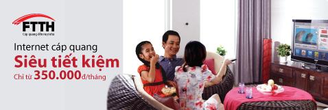 Viettel khuyến mãi dịch vụ truy cập internet tốc độ cao FTTH