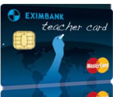 Khuyến mãi đặc biệt cho thẻ Mastercard Eximbank dành cho giáo viên