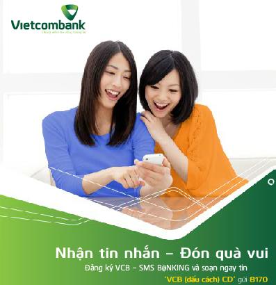 Kiểm tra số dư Vietcombank cơ hội nhận Samsung Galaxy Note 3