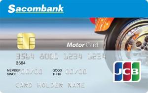 Thẻ tín dụng quốc tế Sacombank Motor Card
