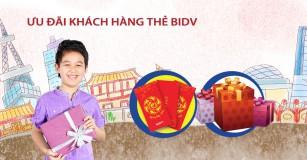 Miễn phí thường niên khi làm thẻ tín dụng BIDV