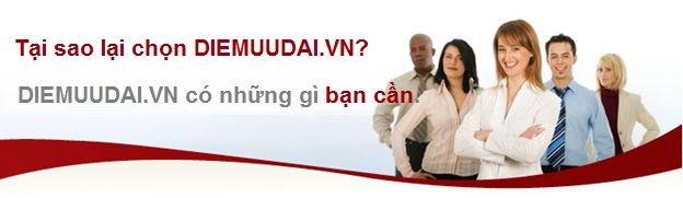Tại sao lại chọn diemuudai.vn