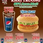 KFC Aeon Mall khuyến mãi từng bừng mừng khai trương