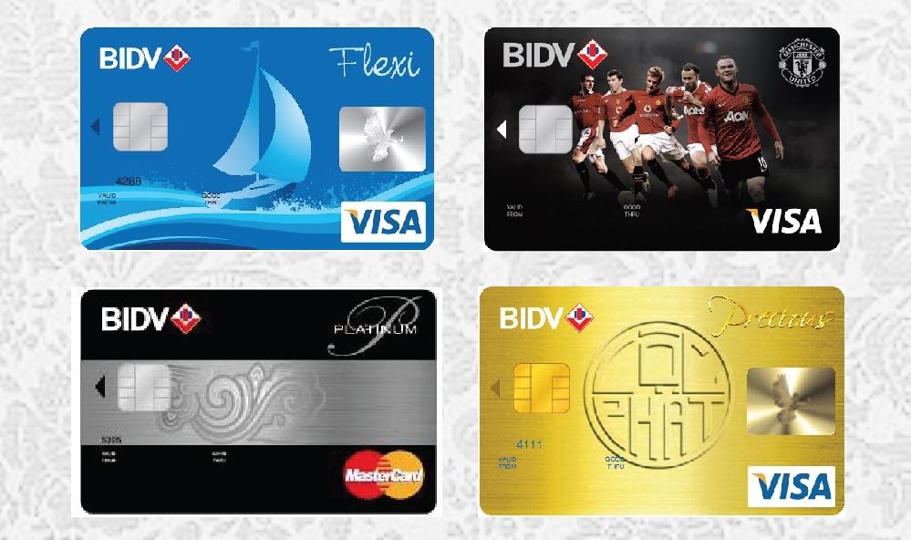 Phí thường niên thẻ tín dụng quốc tế BIDV