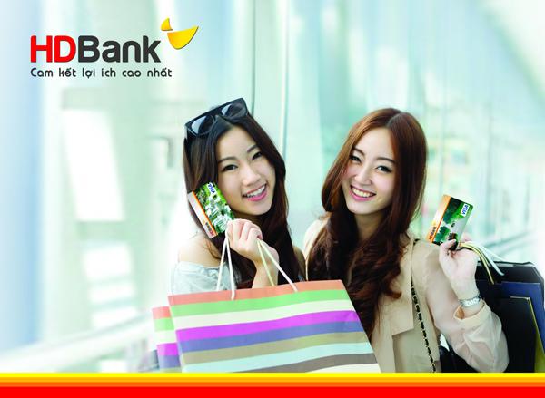 Biểu phí thẻ ghi nợ quốc tế HDBank Visa