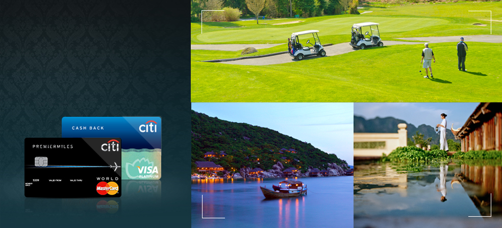 Thưởng ngoạn thế giới cùng Thẻ tín dụng Citibank