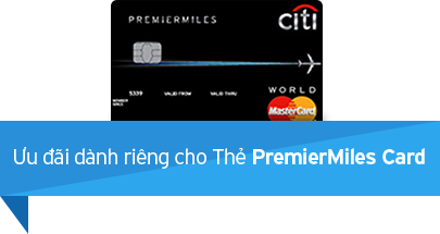 Ưu đãi dành riêng cho Thẻ PremierMiles