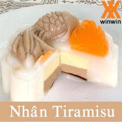 Bánh trung thu rau câu nhân Tiramisu