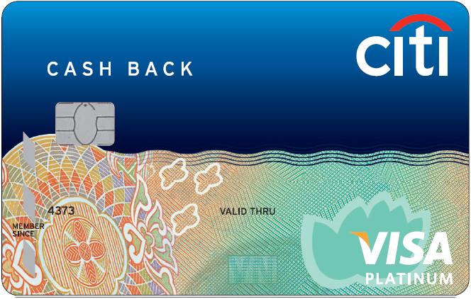 Citi Cash Back Visa Platinum