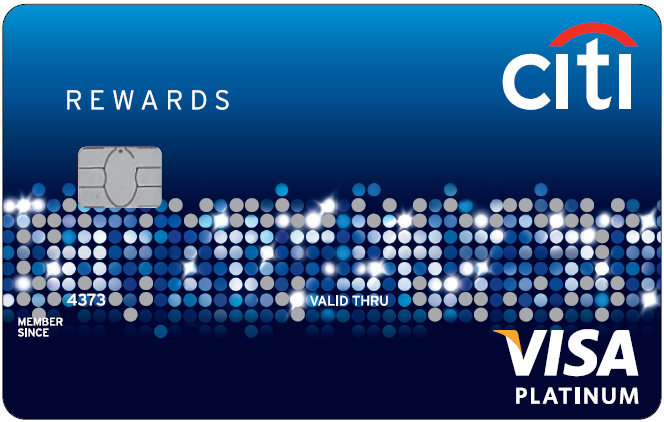 Citi Rewards Card Visa Platinum