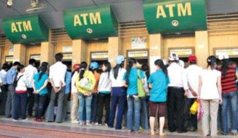 Rút tiền ATM