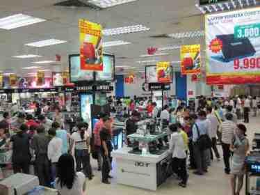 Siêu thị điện máy Nguyễn Kim giảm giá với thẻ Agribank