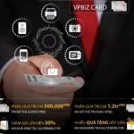 Nguyễn Kim khuyến mại mua sắm trực tuyến bằng VPBiz Card