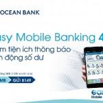 Mobile Banking OceanBank nâng cấp phiên bản 4.3