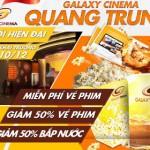 Galaxy Cinema Quang Trung giảm giá vé xem phim với thẻ Sacombank