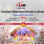 Chương trình khuyến mại cuối năm cho chủ thẻ Vietcombank